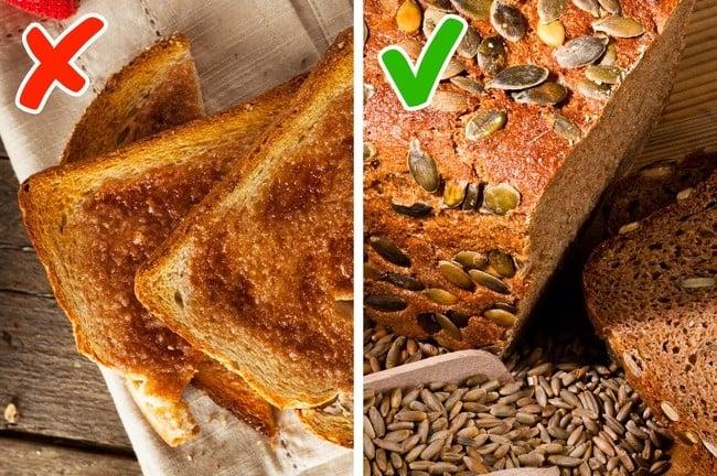 beyaz ekmek tost