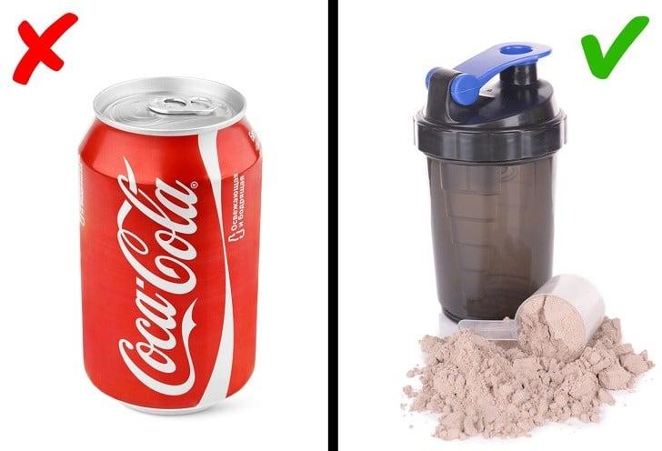 protein karışımı