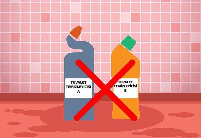 farklı markaların temizlik malzemeleri