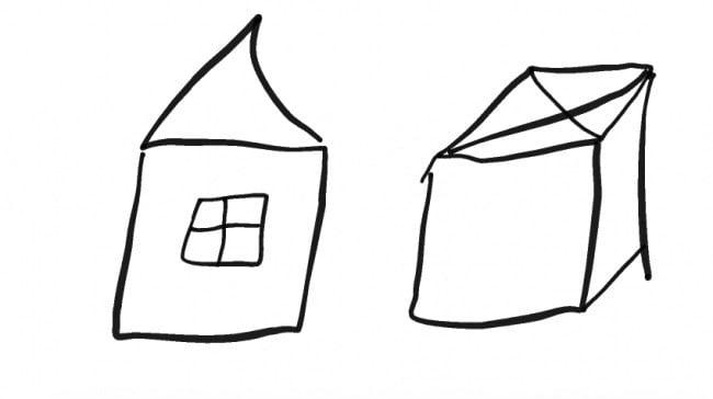 küçük evler ve kutular
