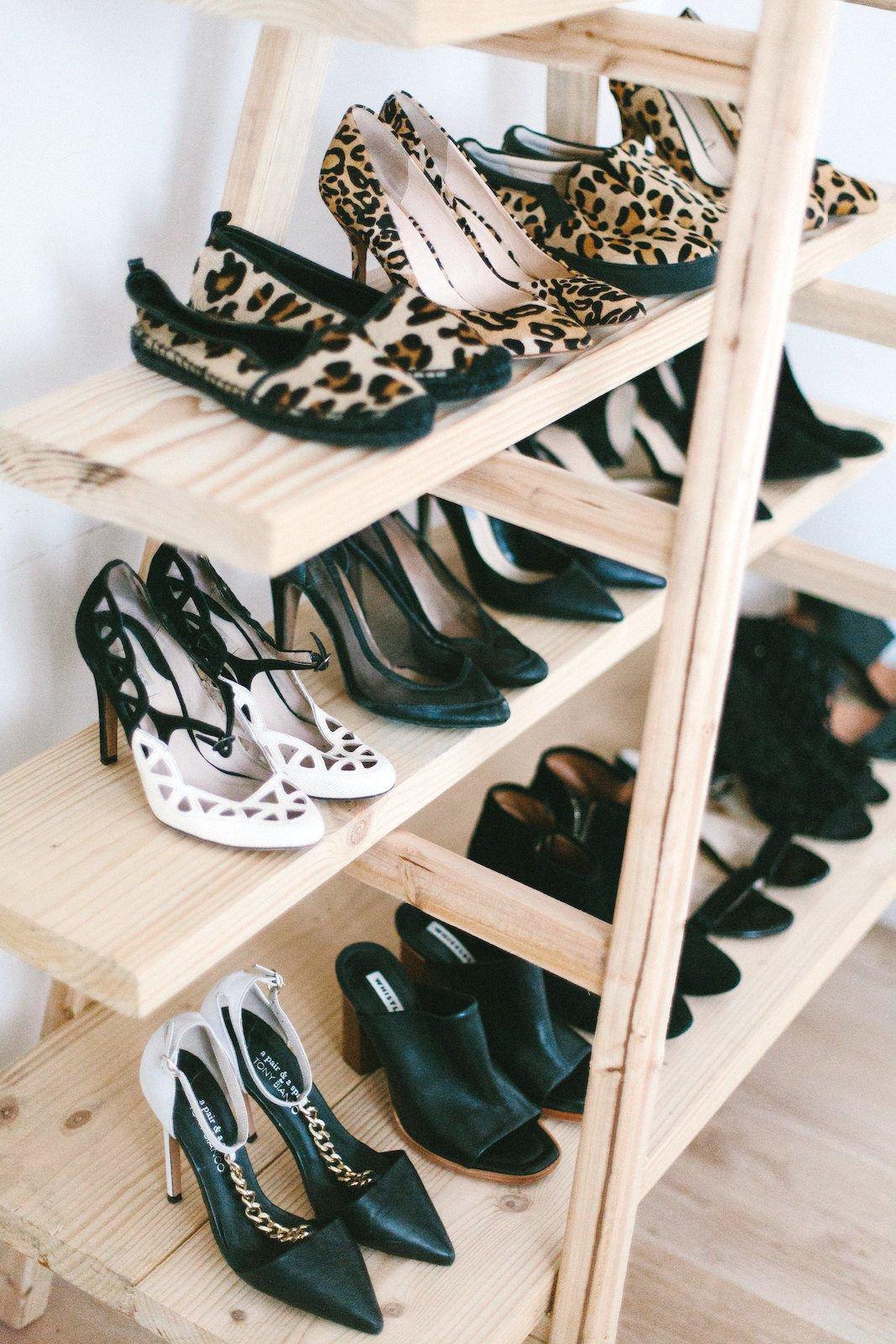 ayakkabılı merdiven