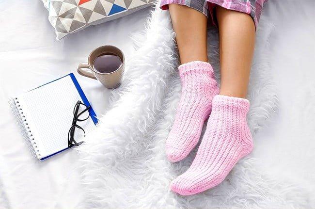 uyku çorabı
