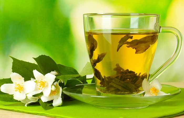 yeşil çay içerek böbrek taşı nasıl düşer
