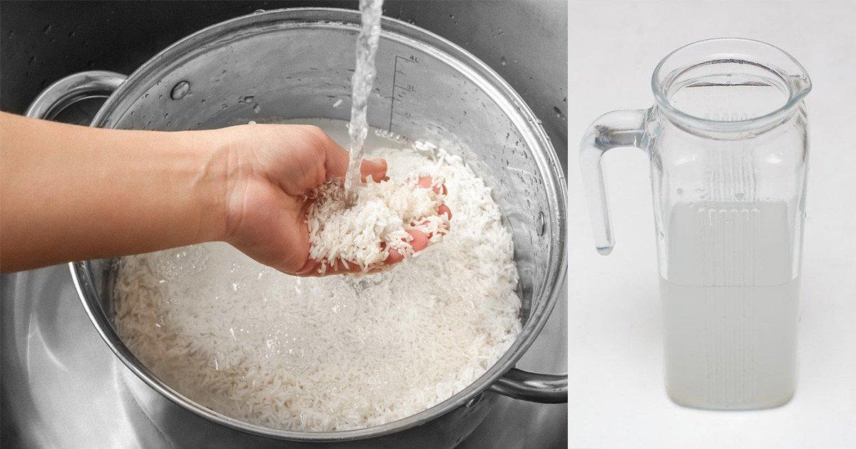 pirinc suyu