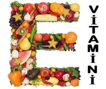 e vitamini görseli