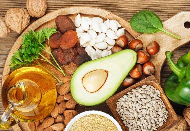 e vitamini içeren gıdalar
