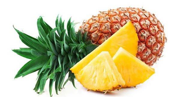 ananasın saça faydaları