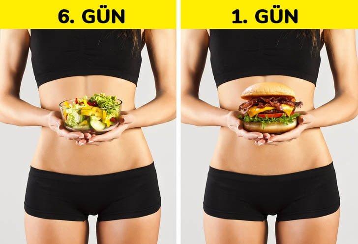 bir gun diyetibozmak