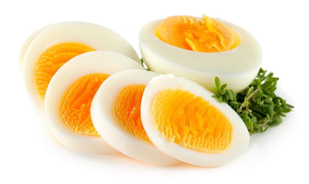 tam olmuş yumurta