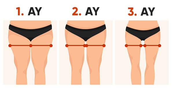 bacaklarınızı inceltmek