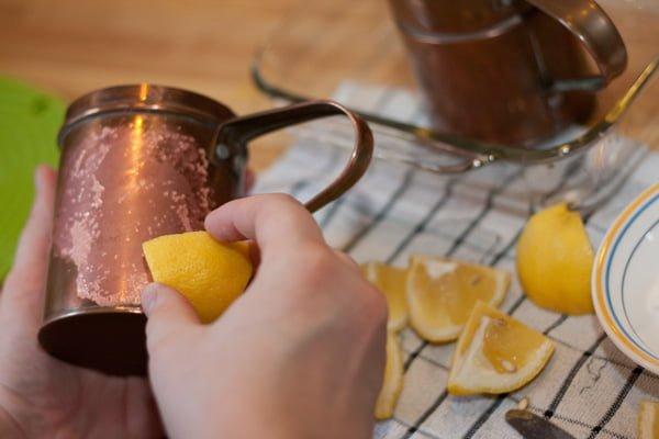 limon suyu ile temizlik