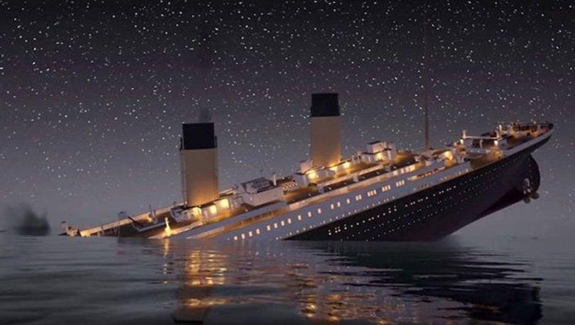 titanic buzdağı yüzünden batmadı