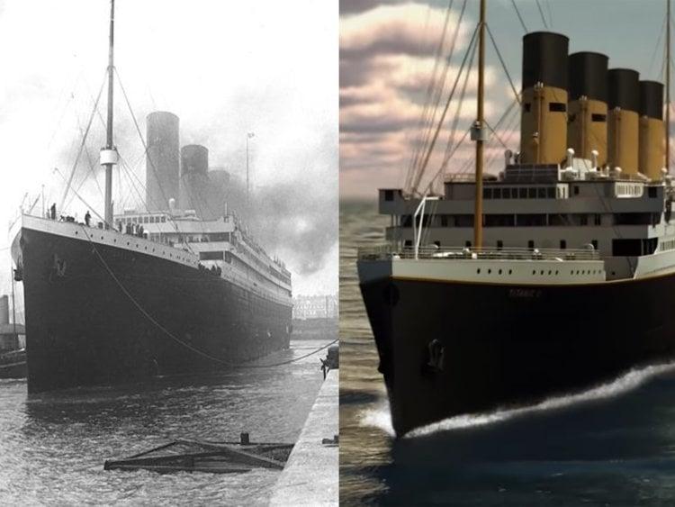 titanic neden battı