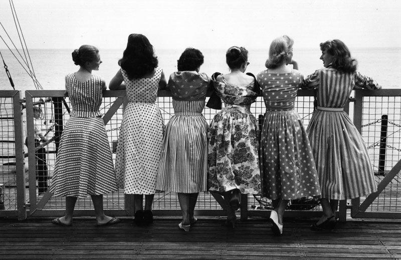 1950deki kadinlar