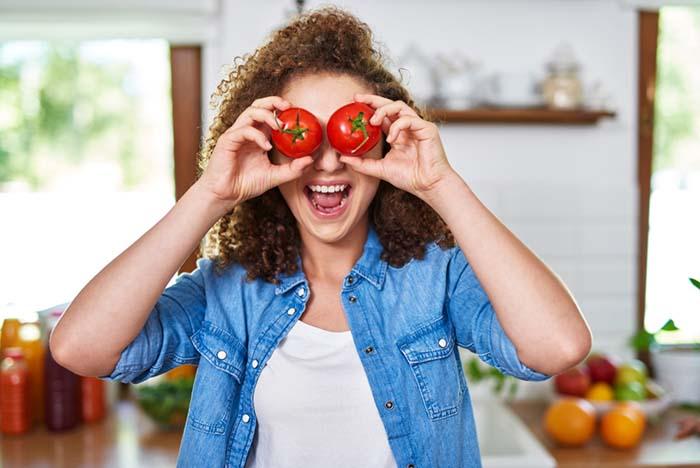domatesi fazla yemek