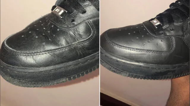 ayakkabı öncesi sonrası