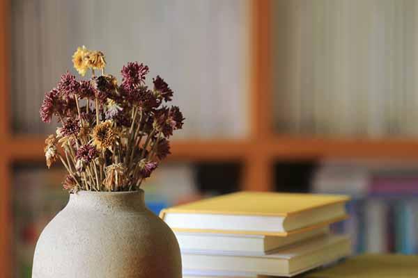 evde solmuş çiçek bırakmayın