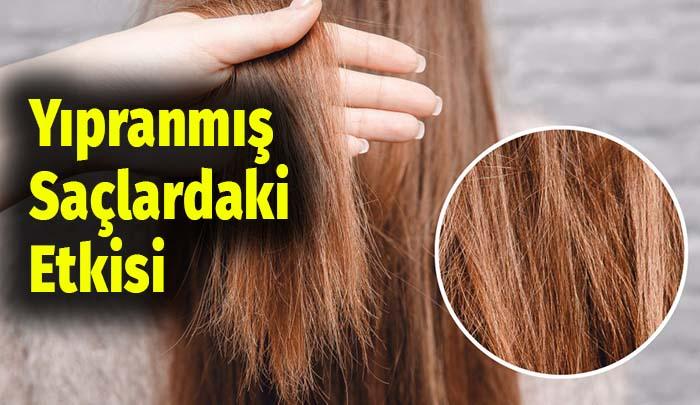yıpranmış saçlar vazelin