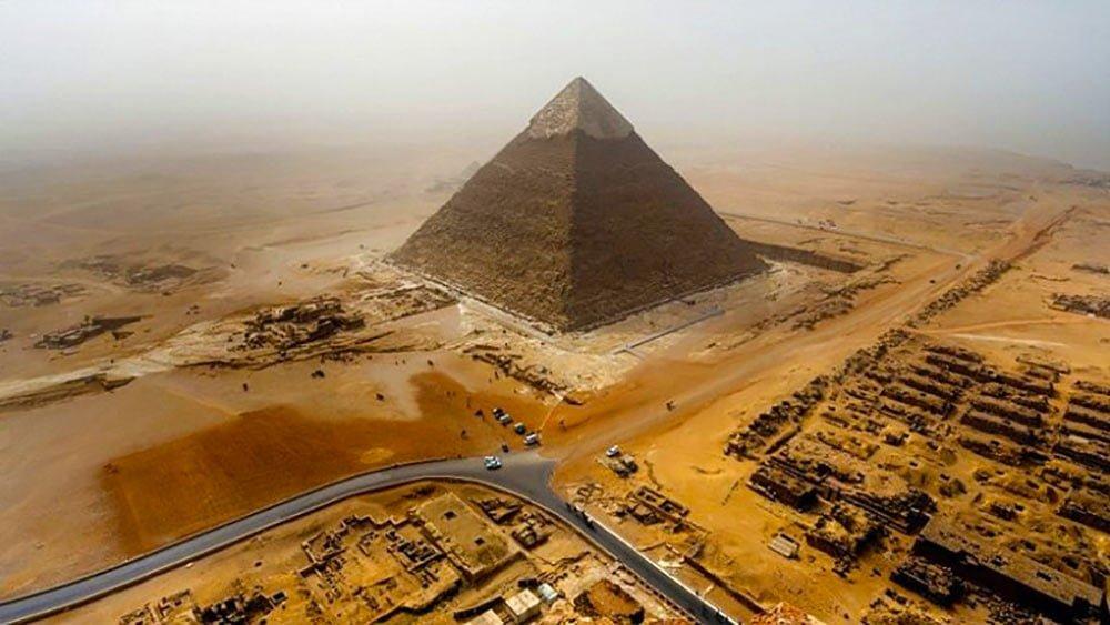 misir piramitleri nasil yapildi