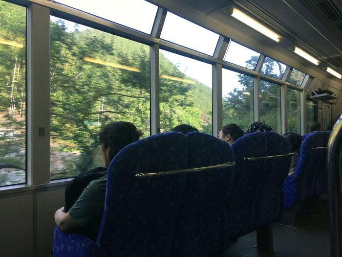 japonya tren koltuklari